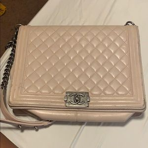 Large Chanel Boy Bag